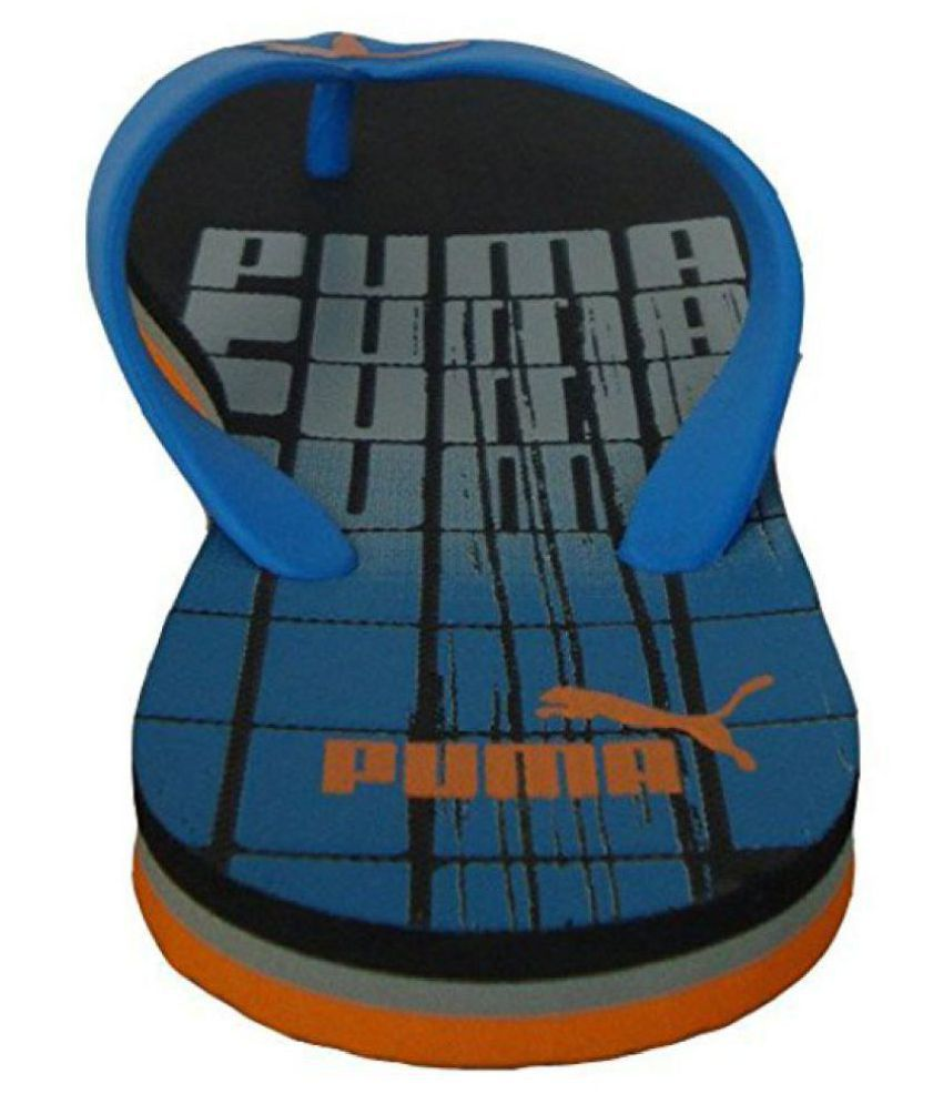 4bf3b7197 Puma grant DP Blue Thong Flip Flop Price in India- Buy Puma grant DP Blue Thong  Flip Flop Online at Snapdeal