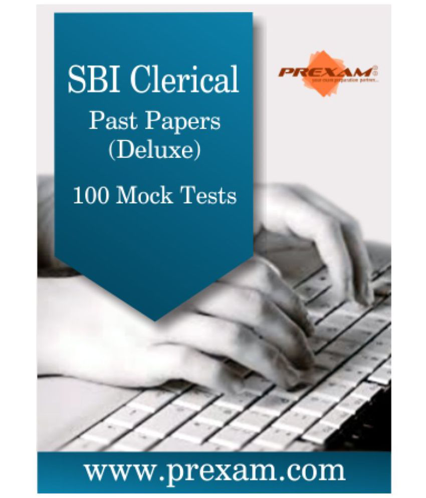 SBI Clerical Past Papers - Deluxe Online Test Series by PREXAM Online Tests