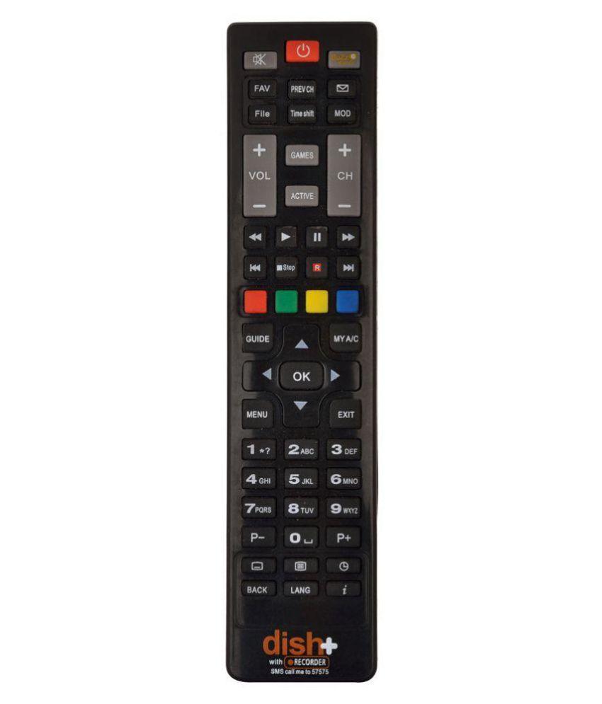 dishtv HD DTH Remote Compatible with Dishtv HD