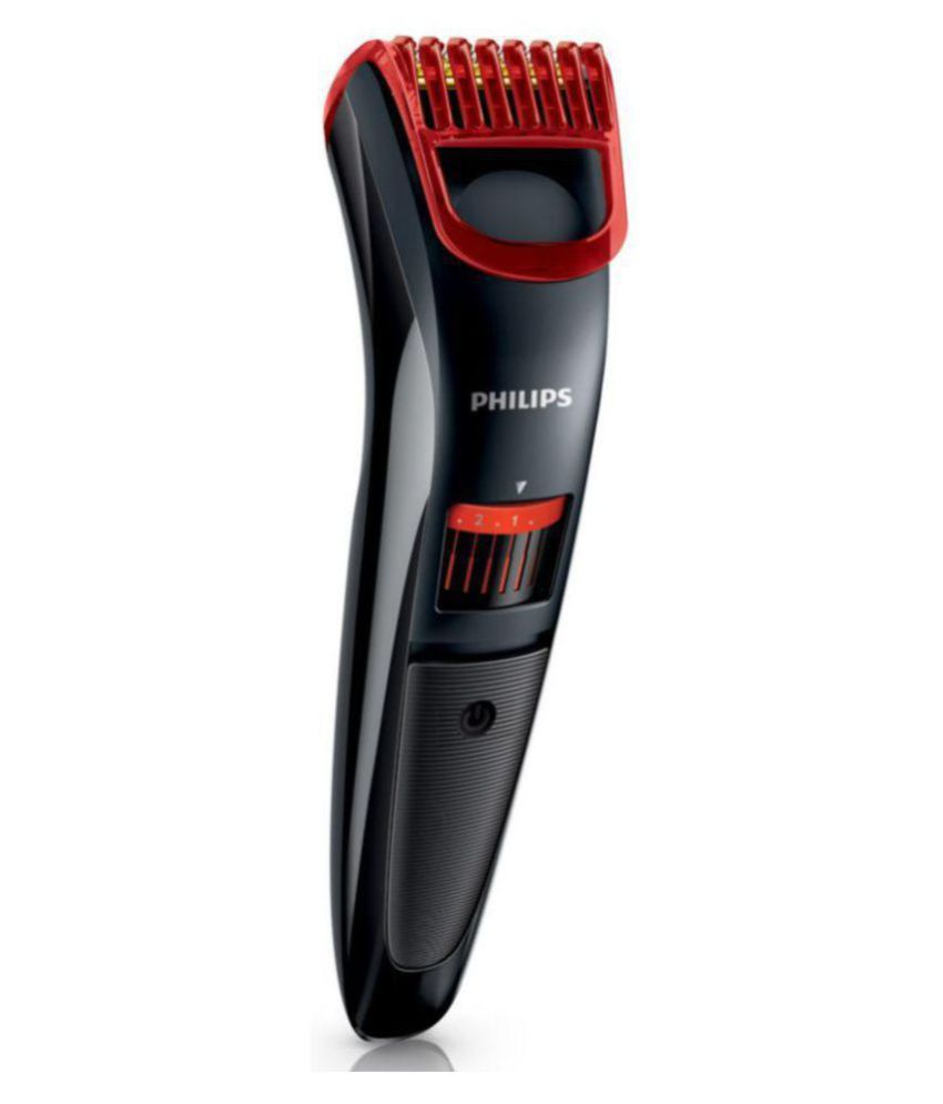 philips qt4011 15 pro beard trimmer red black buy philips qt4011 15 pro beard trimmer. Black Bedroom Furniture Sets. Home Design Ideas