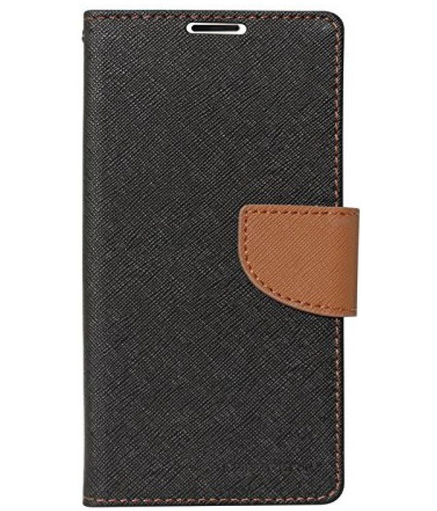 Samsung Galaxy J7 Flip Cover by SCHOFIC - Brown