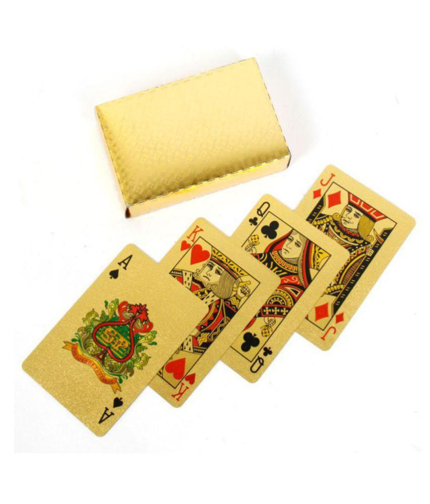 homelux Yellow Other Playing Cards
