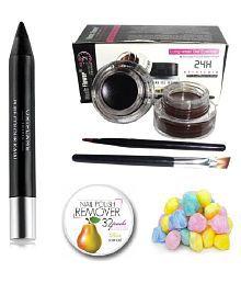 Oriflame Combo of Kajal Pencil Black 3 gm Facial Kit gm