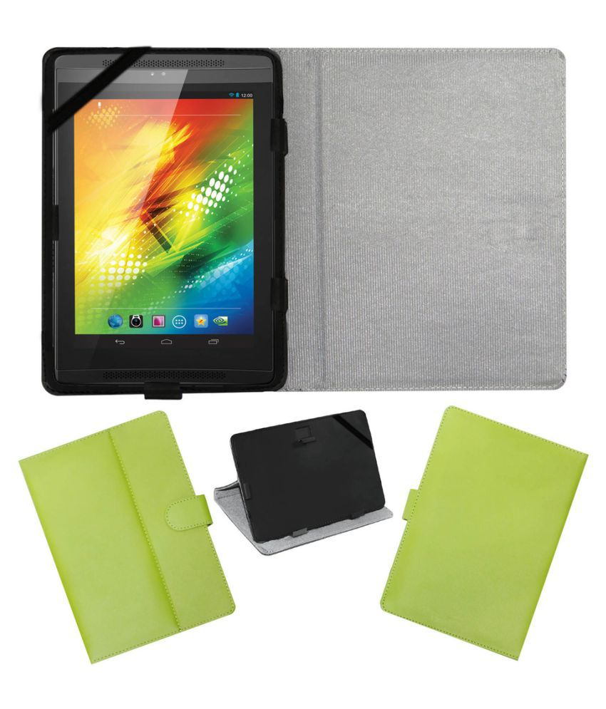 Samsung Galaxy Note 10.1 P6010 Flip Cover By ACM Green