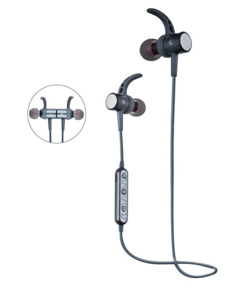 Lewano FB1622 Active Sport Bluetooth Headset - Grey