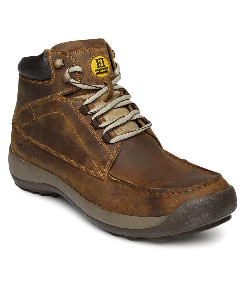 Franco Leone Tan Casual Boot