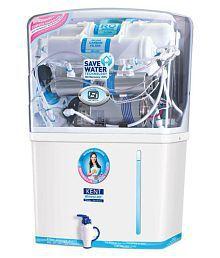 Kent GRAND MINERAL (11007) 8 L RO + UV + UF Water Purifier (White)