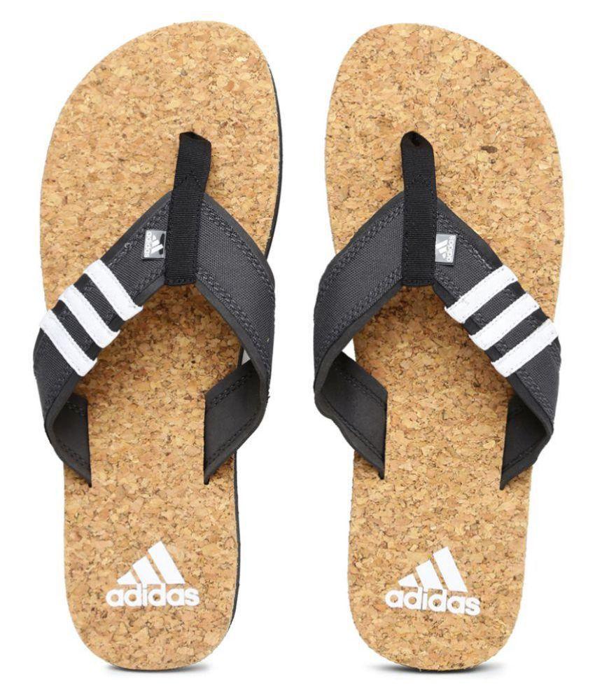 db6e98c1be1b Adidas Beach Cork Gray Thong Flip Flop Price in India- Buy Adidas Beach  Cork Gray Thong Flip Flop Online at Snapdeal