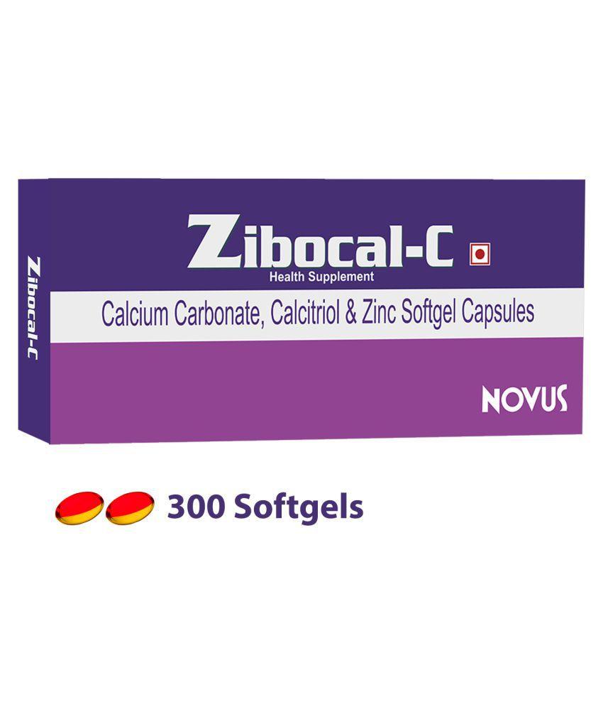 Zibocal C Calcium Vit D3 Zinc Supplement 300 No S Multivitamins
