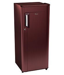 Whirlpool 200 Ltr 3 Star 215 Icemagic Powercool PRM Single Door Refrigerator - Maroon