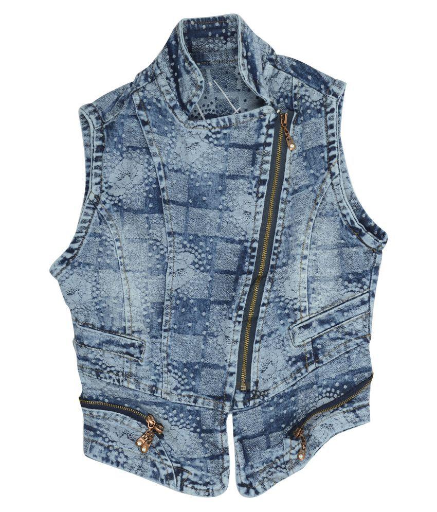 Carrel Girls Blue Denim Jacket