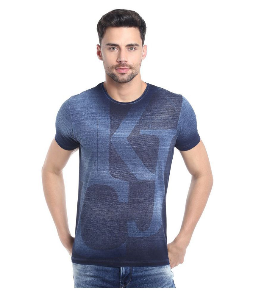 KILLER Blue Round T-Shirt