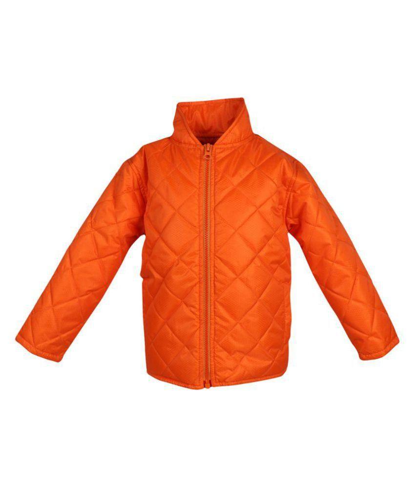 Orange Polyester JACKET
