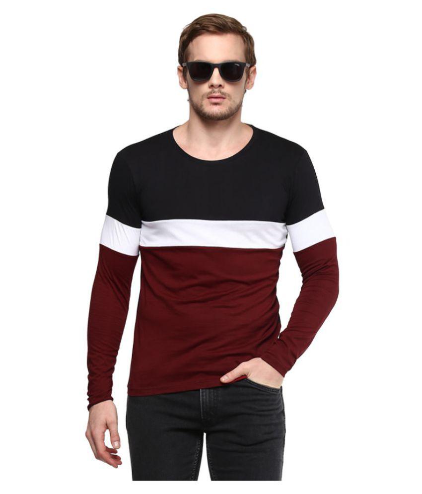 Urbano Fashion Multi Round T Shirt