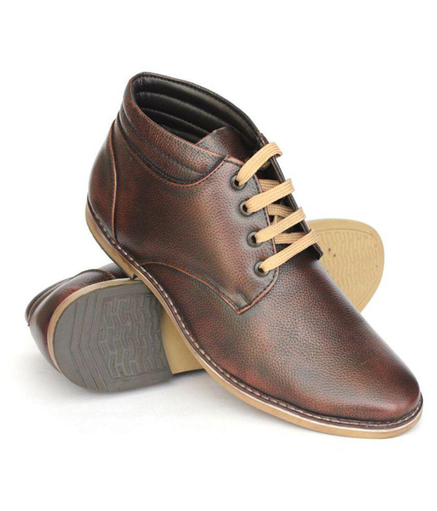 5af4f63784d9e3 SVEQ Genuine Leather Formal Shoes Price in India- Buy SVEQ Genuine Leather  Formal Shoes Online at Snapdeal