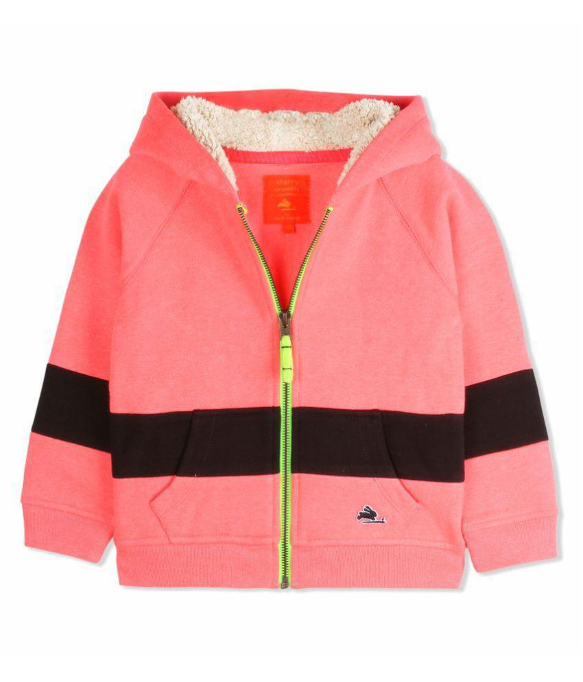 Cherry Crumble Cosy Full-Zip Sweatshirt