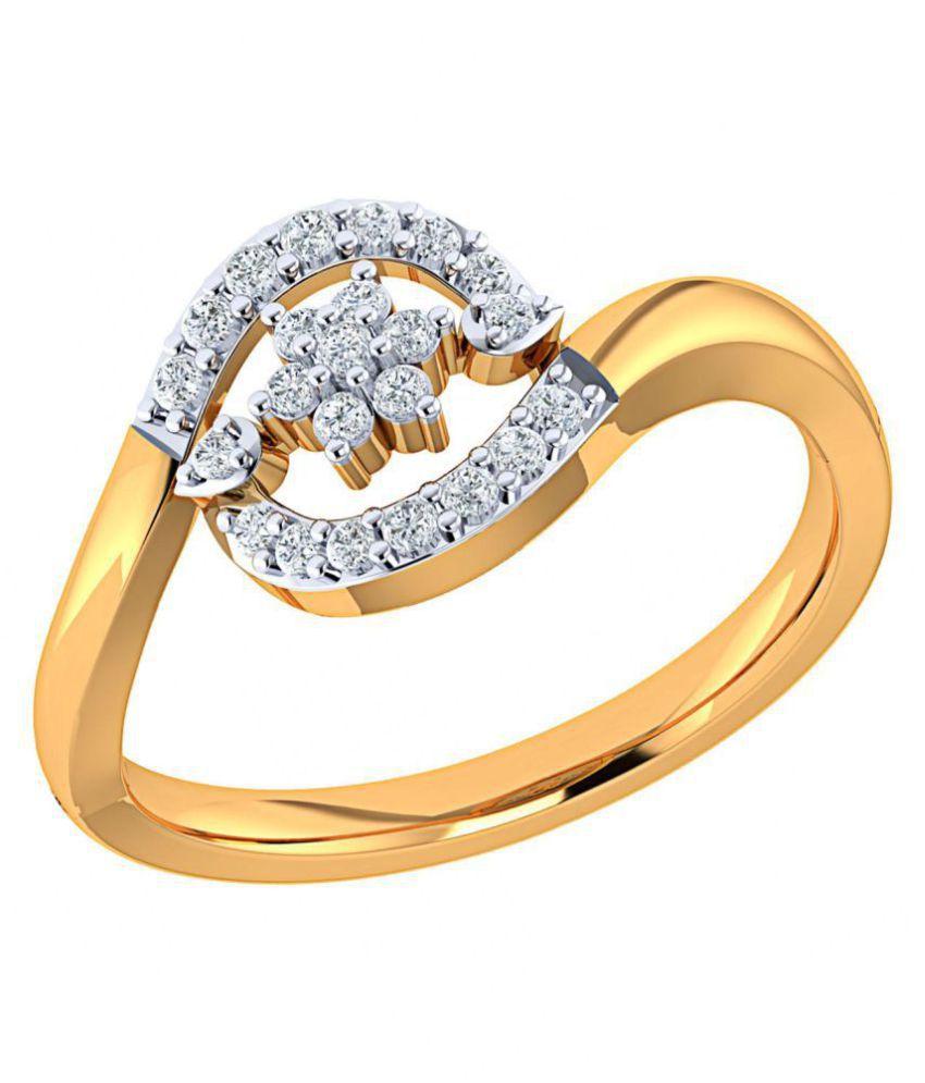 Nakshatra 18k Gold Ring