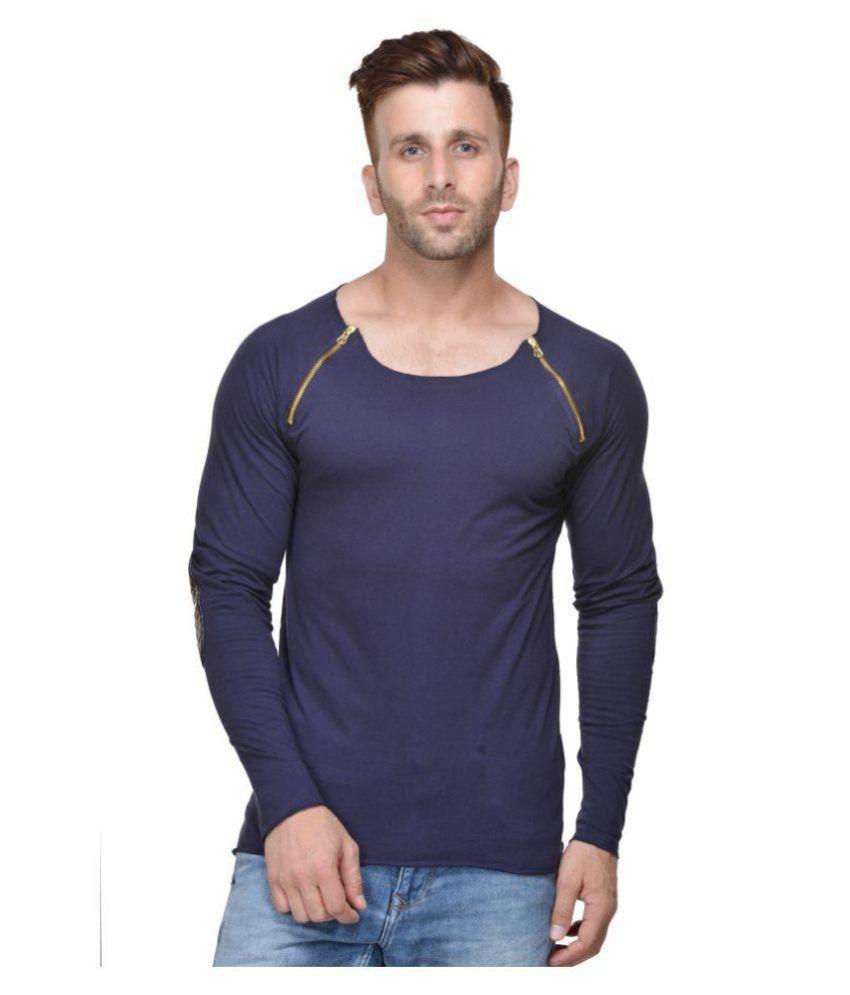 Acomharc Inc Navy Round T-Shirt