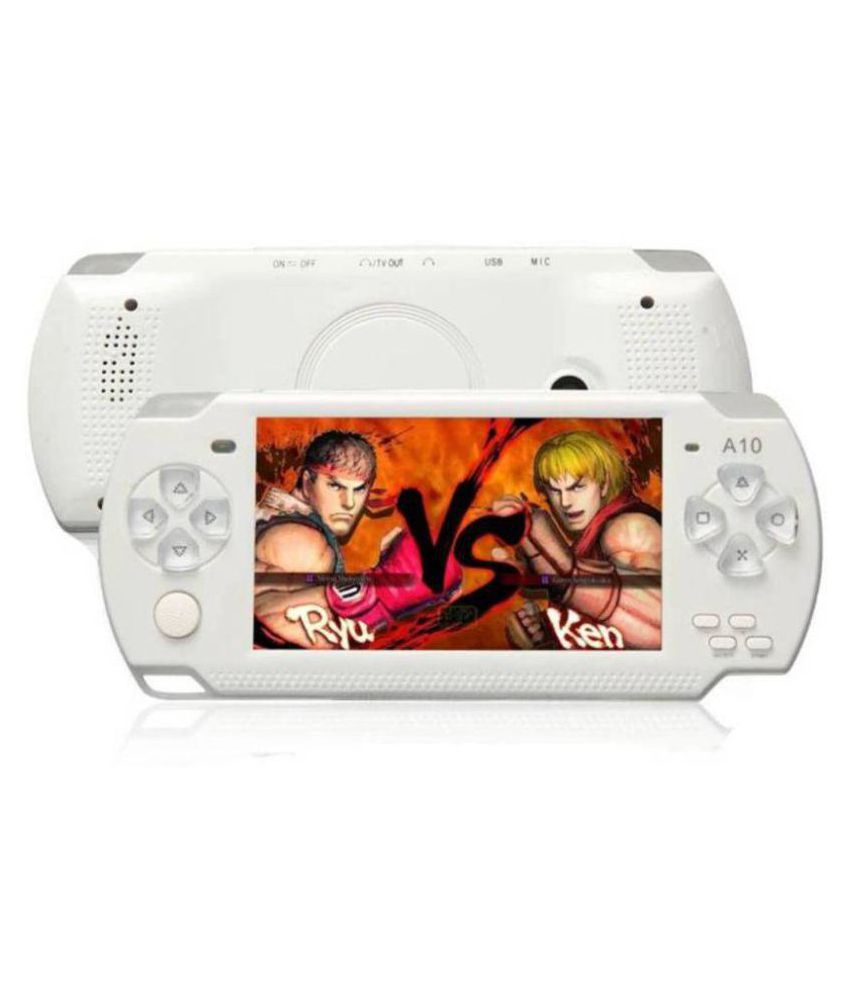 STARK CLASSIC PSP GAME PLAYER 4 GB with INBUILT 10000 GAMES  (White) ( PSP )
