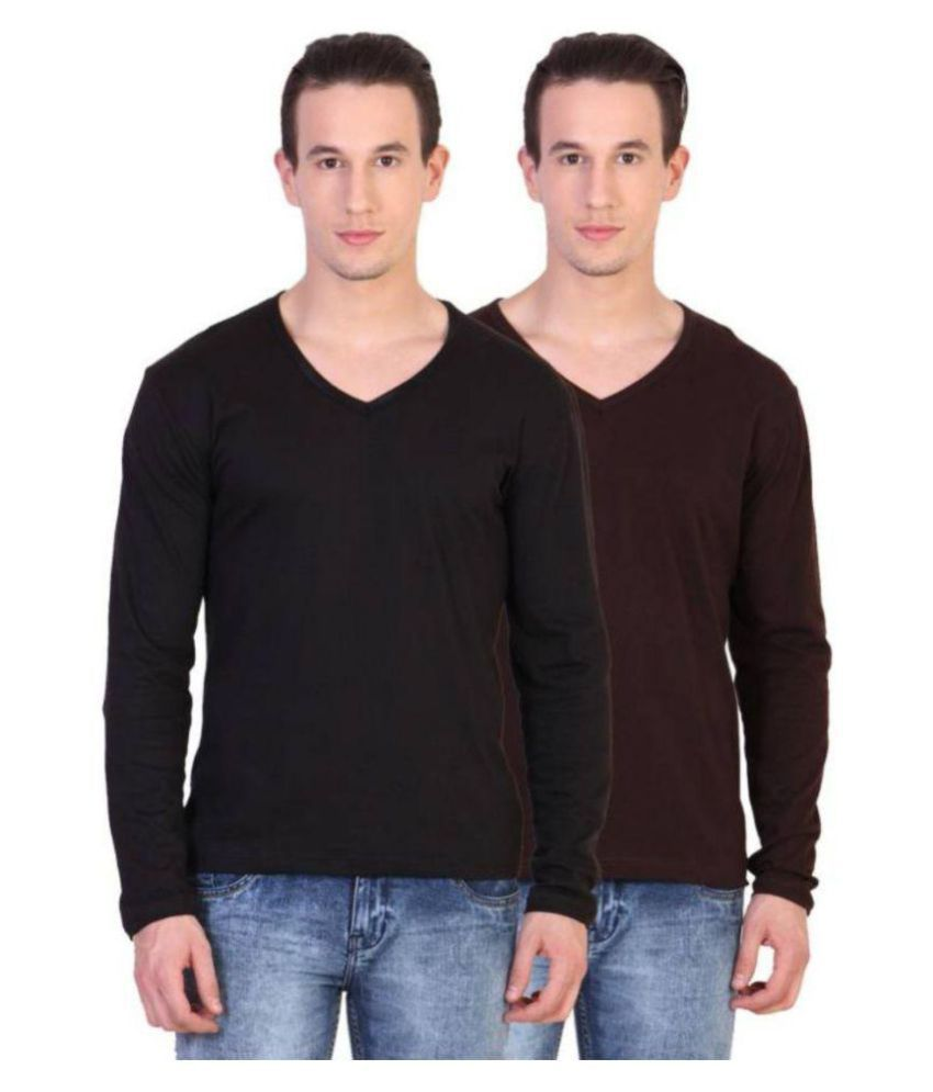 oovs Multi V-Neck T-Shirt