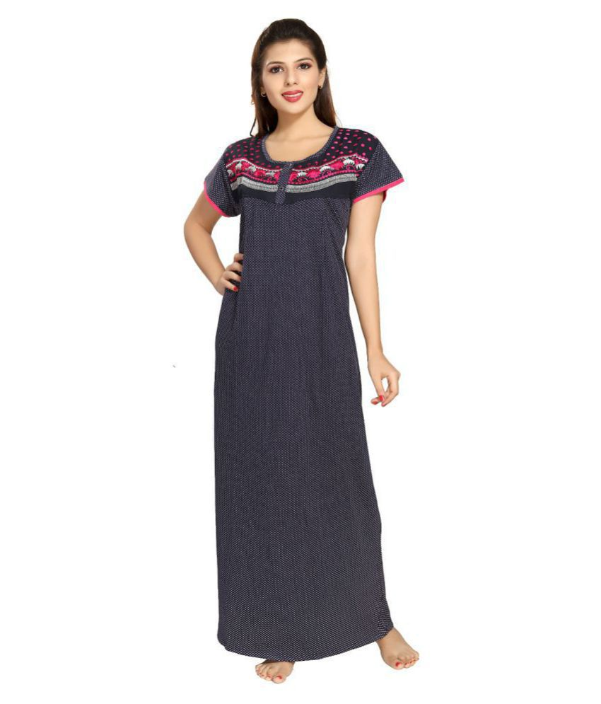 9shineslabel Cotton Nighty & Night Gowns