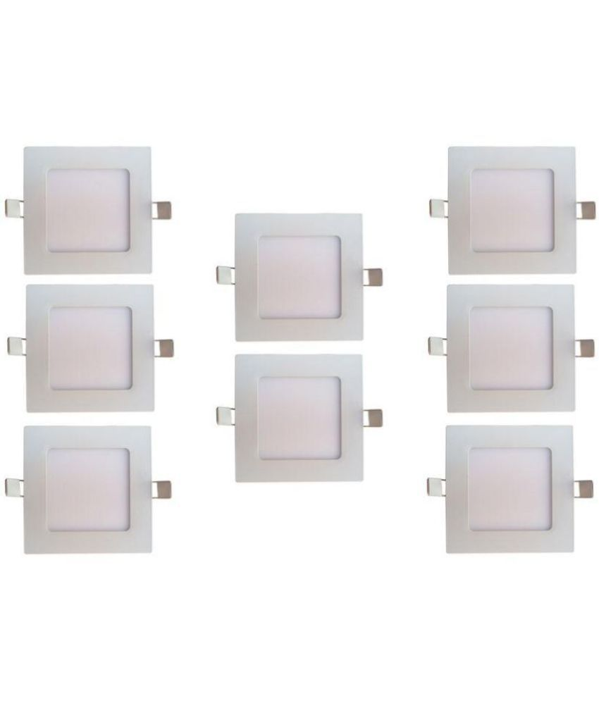 Bene 12W Square Ceiling Light 17 cms. - Pack of 8