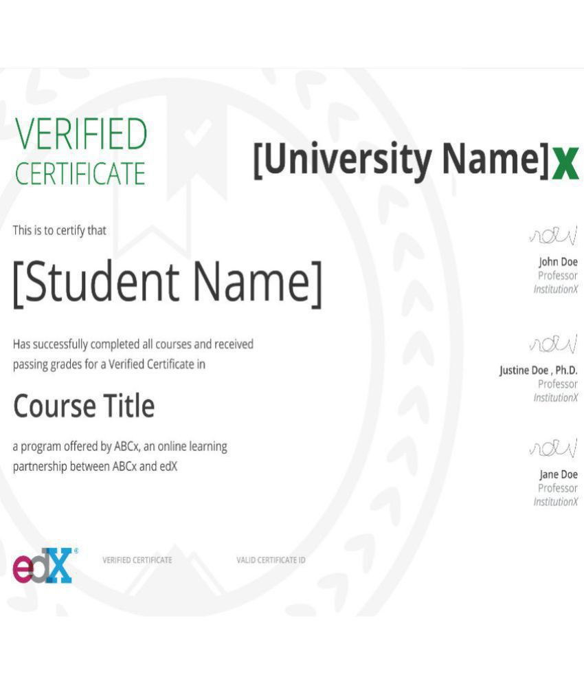 Certificate Course By Adelaidex On Edx Introduction To Project