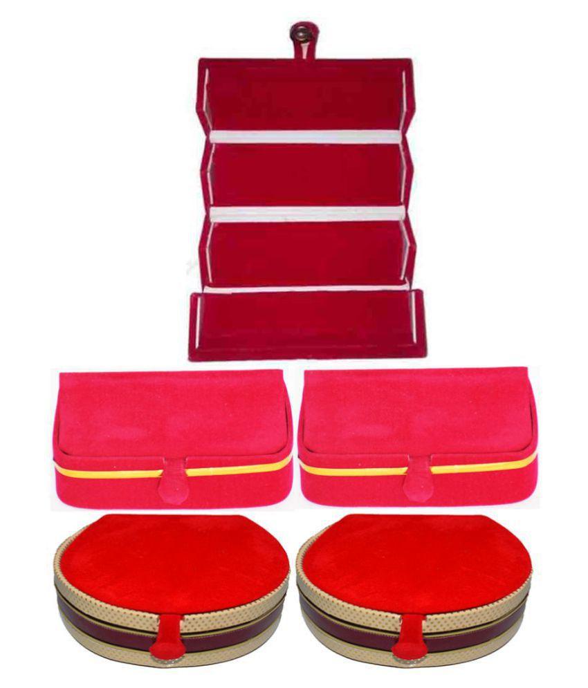 Aadhya Combo of Earring & Bangle Folder pack of 5