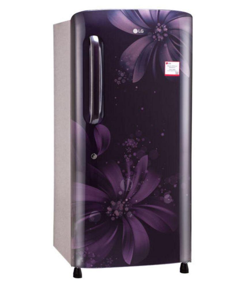 LG 215 Ltr 3 Star GL-B221APAW Single Door Refrigerator -...