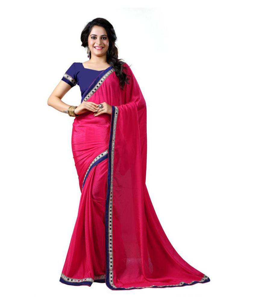 Mahakali Multicoloured Chiffon Saree