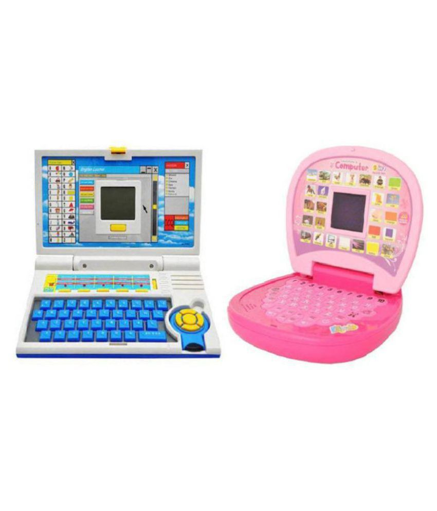 Shy Products Presents Lovely Combo Of English Learner Educational Laptop for Kids With Learning Kids Mini Laptop
