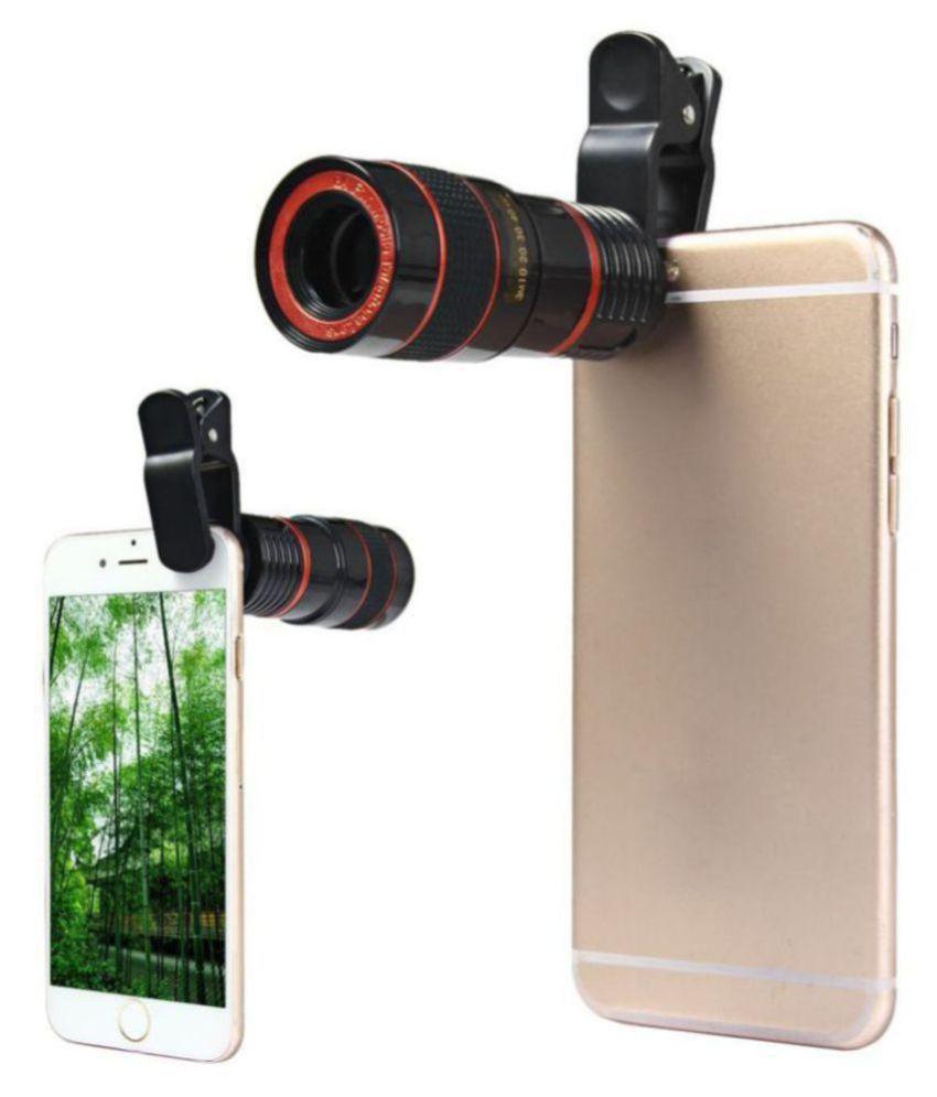 Totu Universal Clip 8X Zoom Mobile Phone Telescope Camera Lens Telephoto External Smartphone