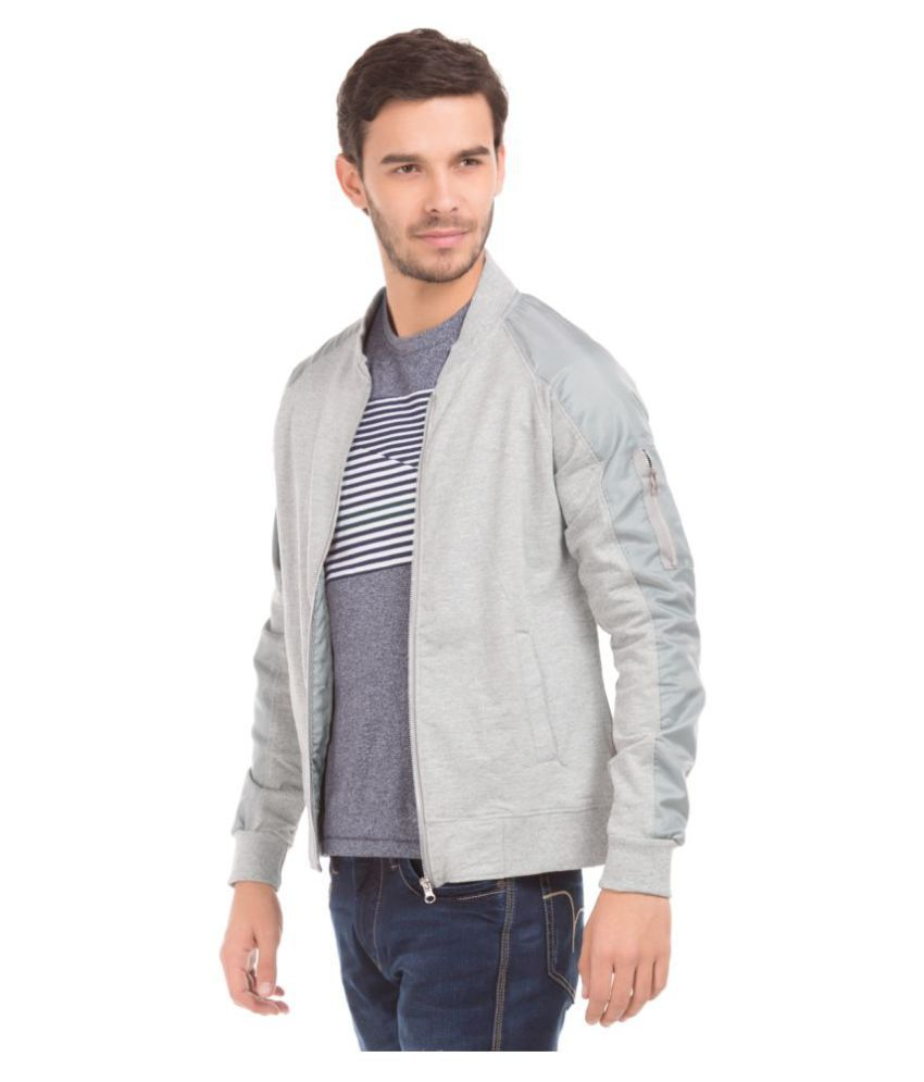Flying Machine Grey Sweatshirt - Buy Flying Machine Grey ...