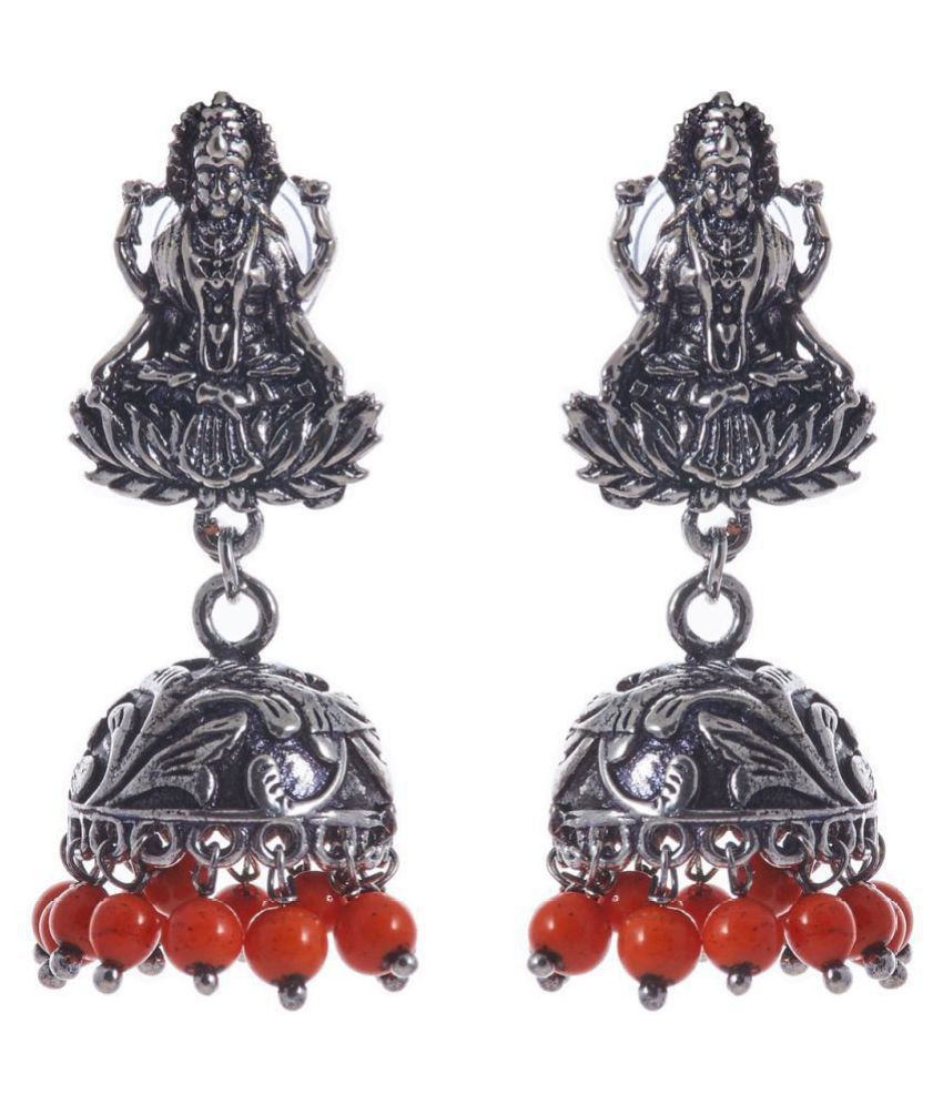 Indian Silver Jhumki