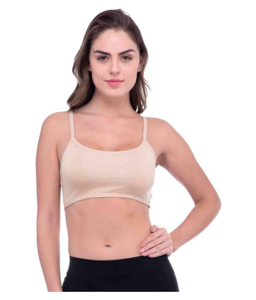 PIF TIF Cotton Lycra Seamless Bra