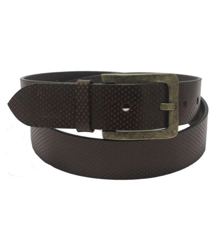 Hidelink Brown Leather Formal Belts