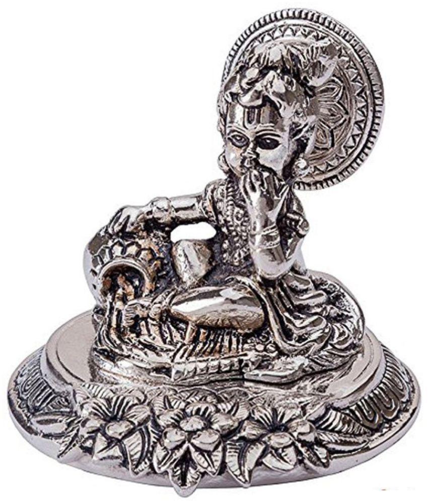 INTERNATIONAL GIFT Laddu Gopal Aluminium Idol