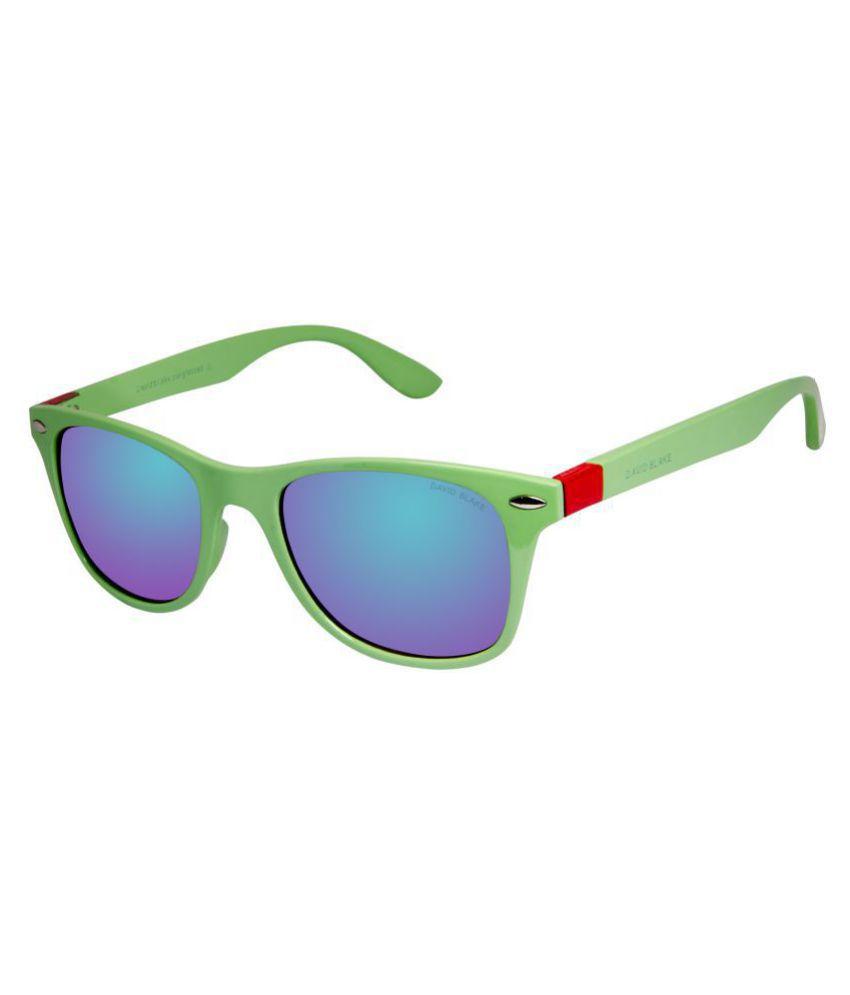 b418b097ca David Blake Green Wayfarer Sunglasses ( TPS403 ) - Buy David Blake Green  Wayfarer Sunglasses ( TPS403 ) Online at Low Price - Snapdeal