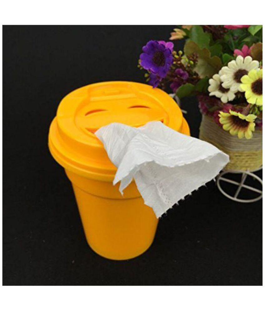 connectwide: Tissue Paper Cup Holder with 80 Tissues