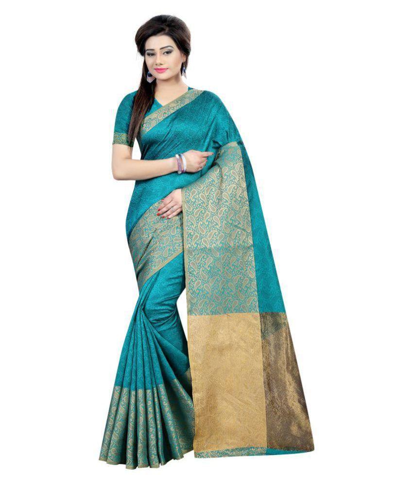 Fashion and Hub Multicoloured Cotton Saree