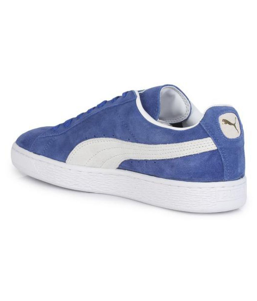 dace1102c04 Puma Suede Classic + IDP Sneakers Blue Casual Shoes - Buy Puma Suede ...