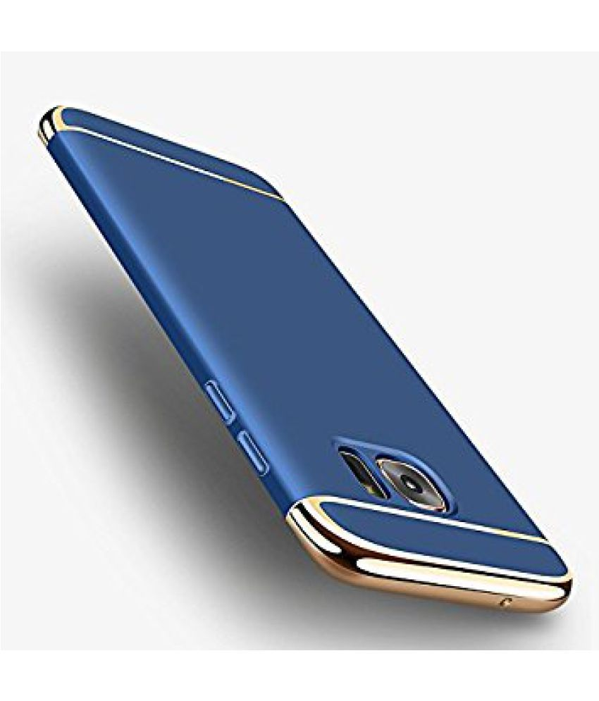41f7f82be2f Samsung Galaxy J7 Max Plain Cases BeingStylish - Blue - Plain Back ...
