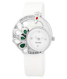 RJL Diamond peacock white For Girls and womens