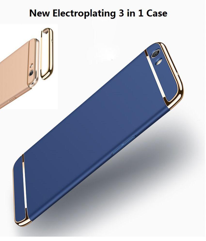 Oppo F3 plus Plain Cases Worth IT - Blue