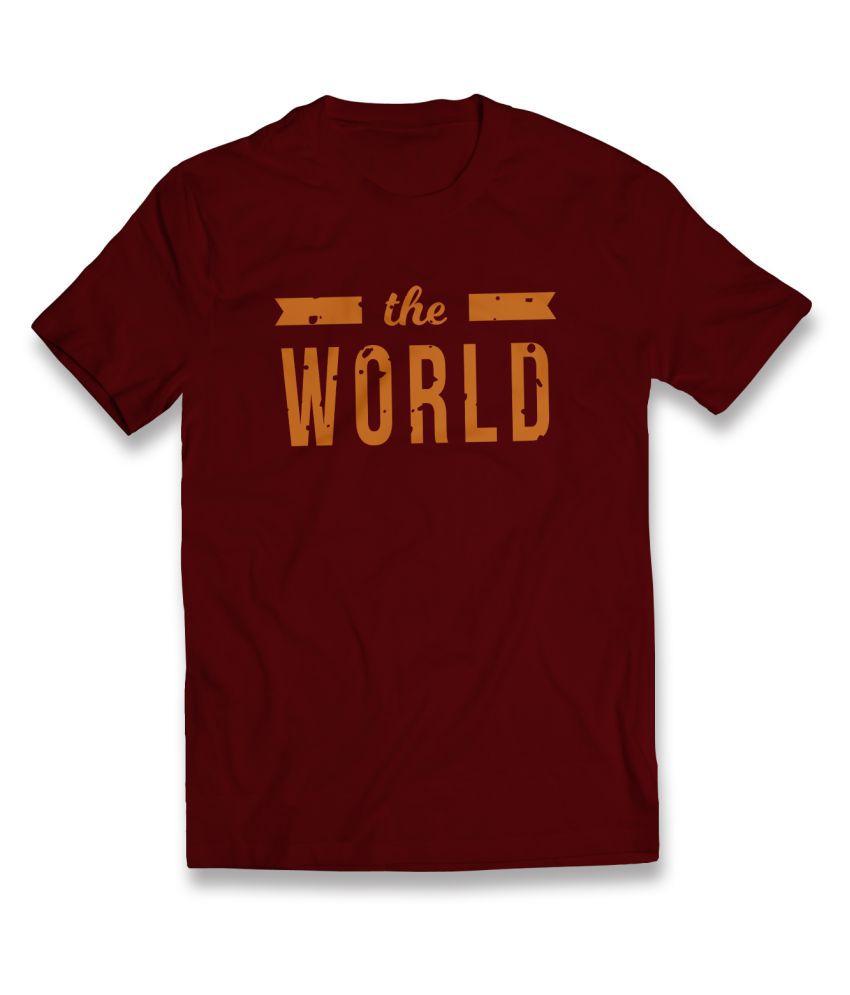 Harpy Maroon Round T-Shirt
