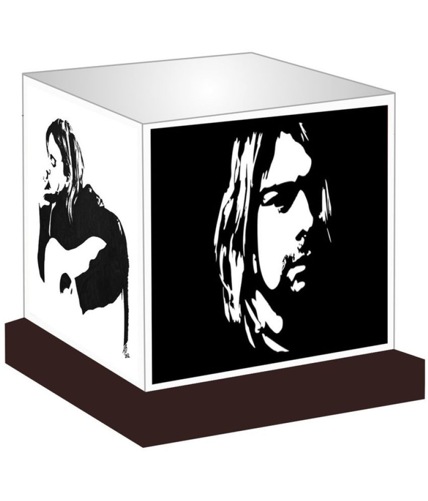 Unique Indian Crafts  Kurt Cobain Night Lamp Multi - Pack of 1