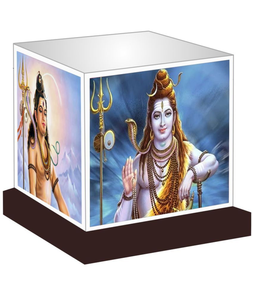 Unique Indian Crafts  Lord Shiva Night Lamp Multi - Pack of 1