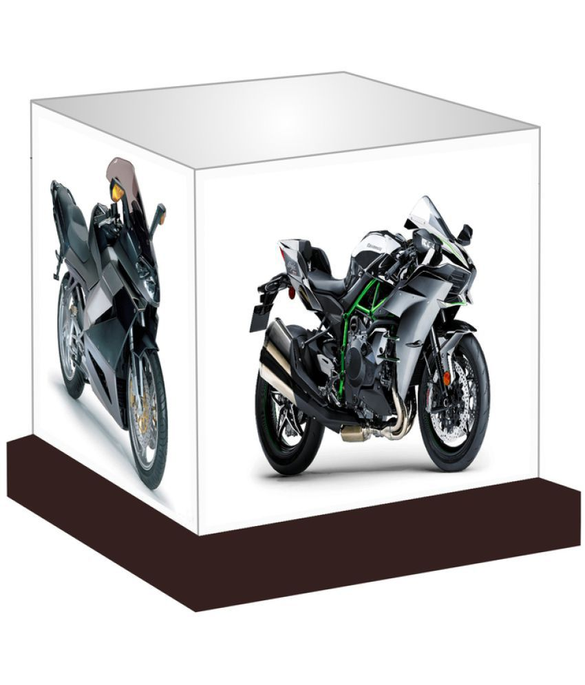 Unique Indian Crafts  Sports Bikes Night Lamp Multi - Pack of 1