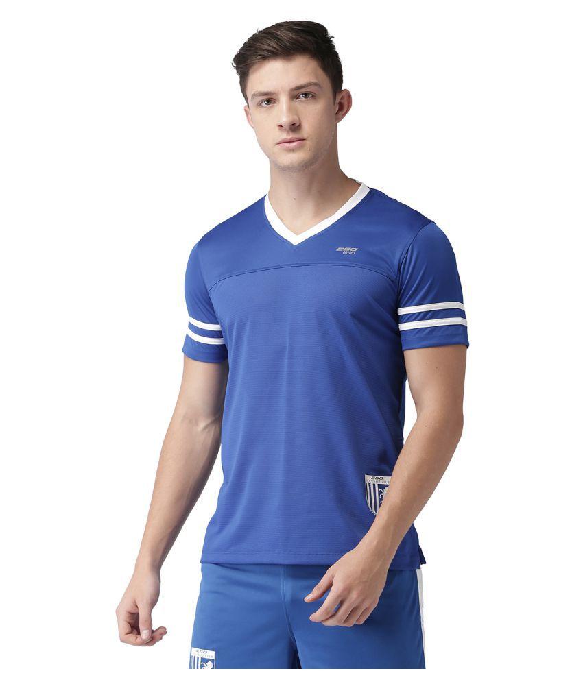 2GO Blue V-Neck T-Shirt