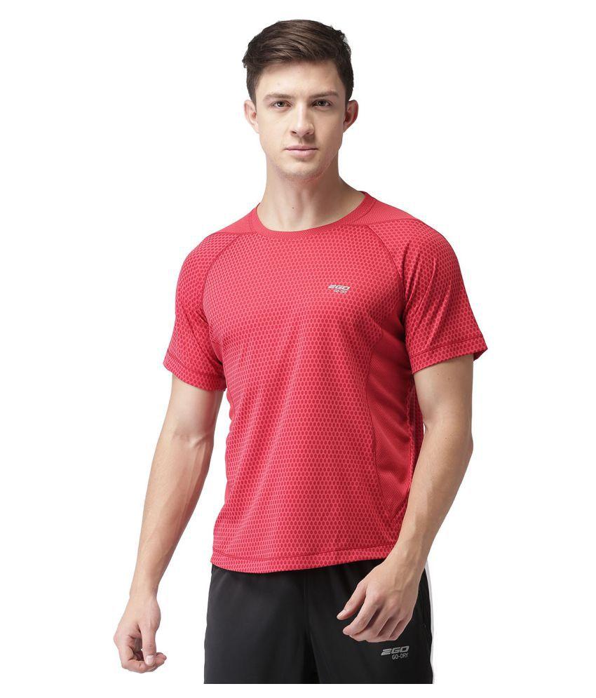 2GO Red Round T-Shirt
